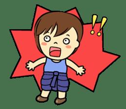 Tang-Gwa & friends (Thai Kid Ver.Eng) sticker #6169065