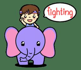 Tang-Gwa & friends (Thai Kid Ver.Eng) sticker #6169069