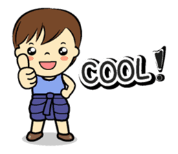 Tang-Gwa & friends (Thai Kid Ver.Eng) sticker #6169075