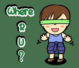 Tang-Gwa & friends (Thai Kid Ver.Eng) sticker #6169076