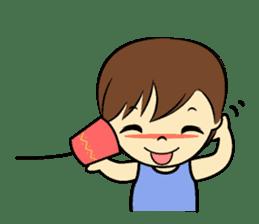 Tang-Gwa & friends (Thai Kid Ver.Eng) sticker #6169079