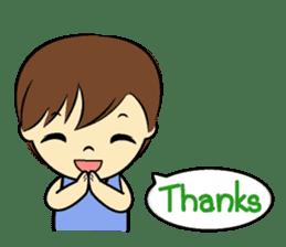 Tang-Gwa & friends (Thai Kid Ver.Eng) sticker #6169083