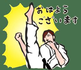 OSU!! Karate girl sticker #6172377
