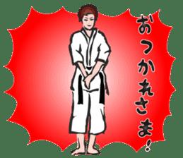 OSU!! Karate girl sticker #6172378