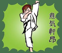 OSU!! Karate girl sticker #6172384
