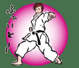 OSU!! Karate girl sticker #6172391