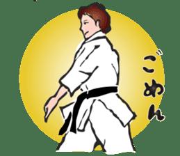 OSU!! Karate girl sticker #6172392