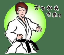 OSU!! Karate girl sticker #6172405