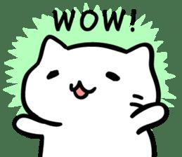 Mitchiri-Neko Dairy Sticker sticker #6173592