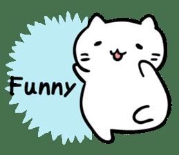 Mitchiri-Neko Dairy Sticker sticker #6173603