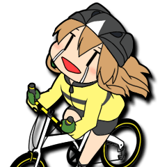 Cycling Sticker for Bicycle Lovers Ver3