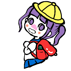 KAWAII ONNANOKO sticker