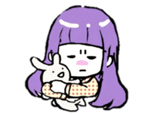 KAWAII ONNANOKO sticker sticker #6177065