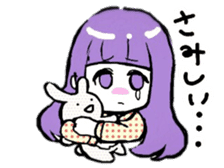 KAWAII ONNANOKO sticker sticker #6177066
