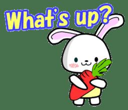 English Rabbit sticker #6180458
