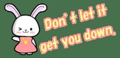 English Rabbit sticker #6180463