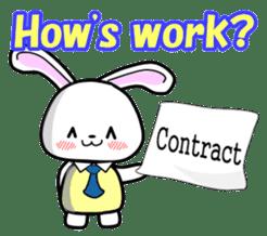 English Rabbit sticker #6180464