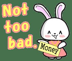 English Rabbit sticker #6180465