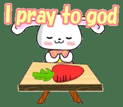 English Rabbit sticker #6180469