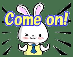 English Rabbit sticker #6180472