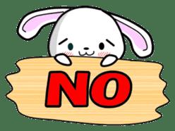 English Rabbit sticker #6180475