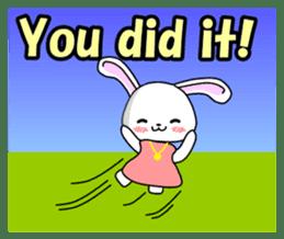 English Rabbit sticker #6180482