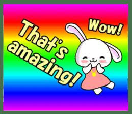 English Rabbit sticker #6180486