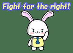 English Rabbit sticker #6180487