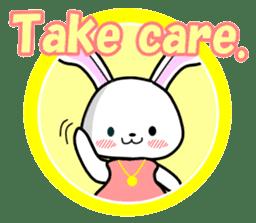 English Rabbit sticker #6180493