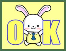 English Rabbit sticker #6180494