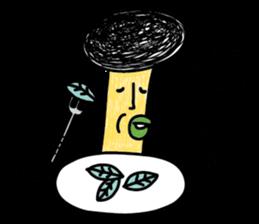 Crazy Mushroom 2 sticker #6183997