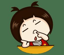 Jangmi a Little Girl sticker #6186291