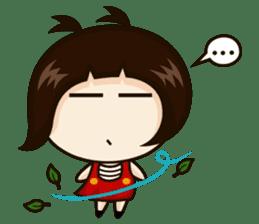 Jangmi a Little Girl sticker #6186295