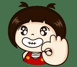 Jangmi a Little Girl sticker #6186302