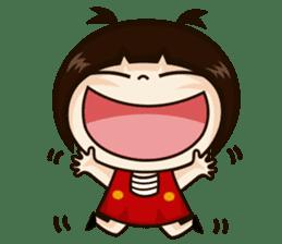 Jangmi a Little Girl sticker #6186308