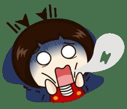 Jangmi a Little Girl sticker #6186312