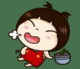 Jangmi a Little Girl sticker #6186313