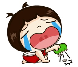 Jangmi a Little Girl sticker #6186315