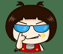Jangmi a Little Girl sticker #6186318