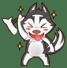 Husky Kakkoii sticker #6186441