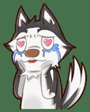 Husky Kakkoii sticker #6186446
