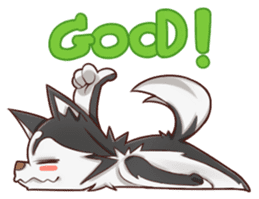 Husky Kakkoii sticker #6186451