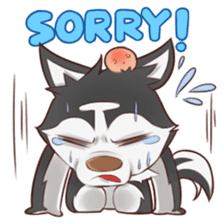 Husky Kakkoii sticker #6186452
