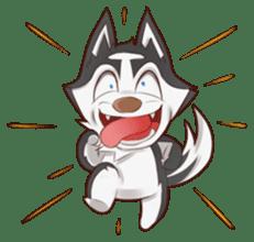 Husky Kakkoii sticker #6186467