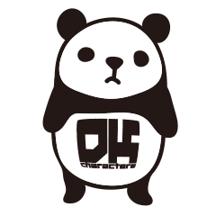 DK Panda Sticker