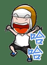 Caps Boy sticker #6206758