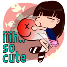 Little Girl, Louis sticker #6208801