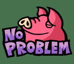 PIGGIE the Pinky Pig sticker #6209012