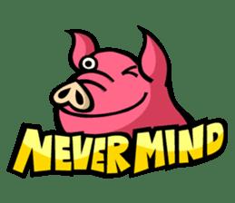 PIGGIE the Pinky Pig sticker #6209013