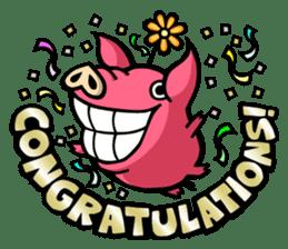 PIGGIE the Pinky Pig sticker #6209016